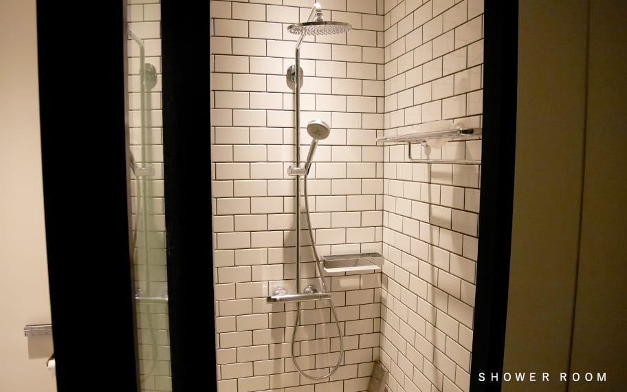 THE WORKERS&CO B1F SHOWER ROOM